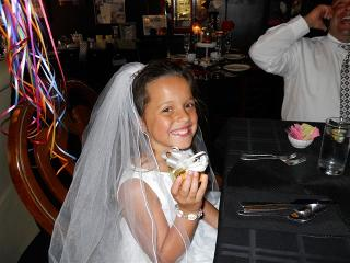 Sofia' First Communion